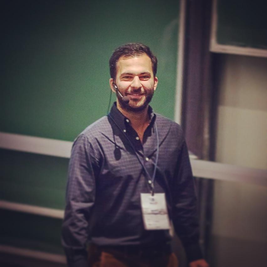 Hamed Farhadian auf WordCamp 2014 Hamburg
