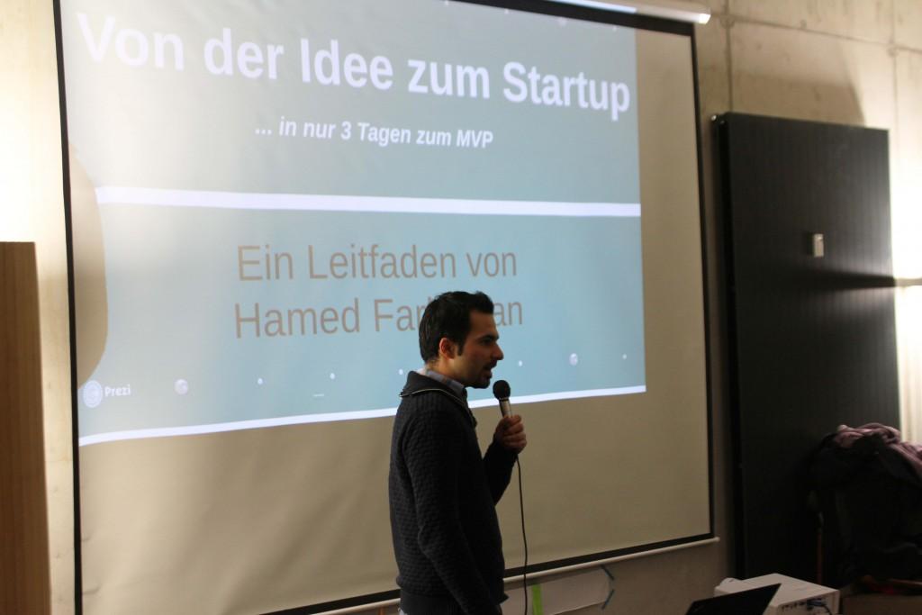 Hamed Farhadian - Von der Idee zum MVP in 3 Tagen