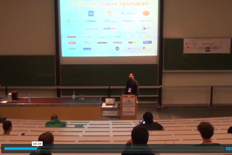 Speaker: WordCamp Hamburg