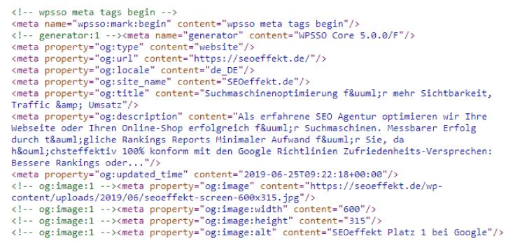 Durch SEO-Optimierung am Quellcode weiß Google direkt, worum es auf einer Webseite geht.