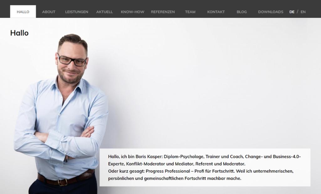 hamed.de Referenz - Boris Kasper