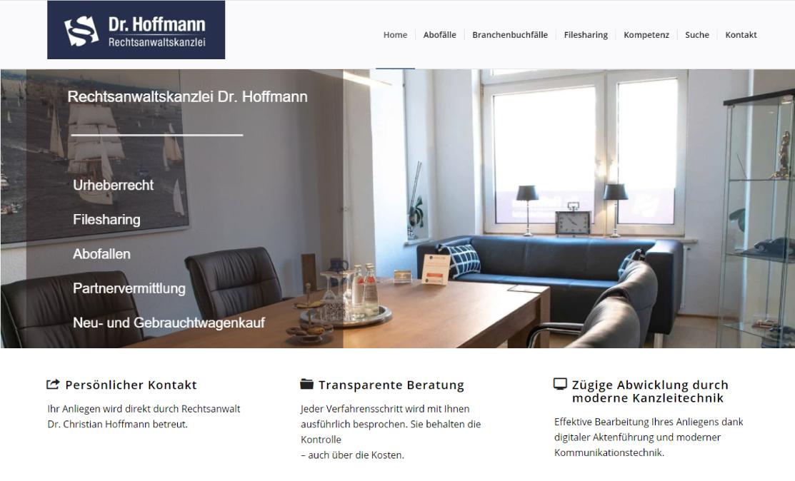 hamed.de Referenz - Christian Hoffmann Kanzlei
