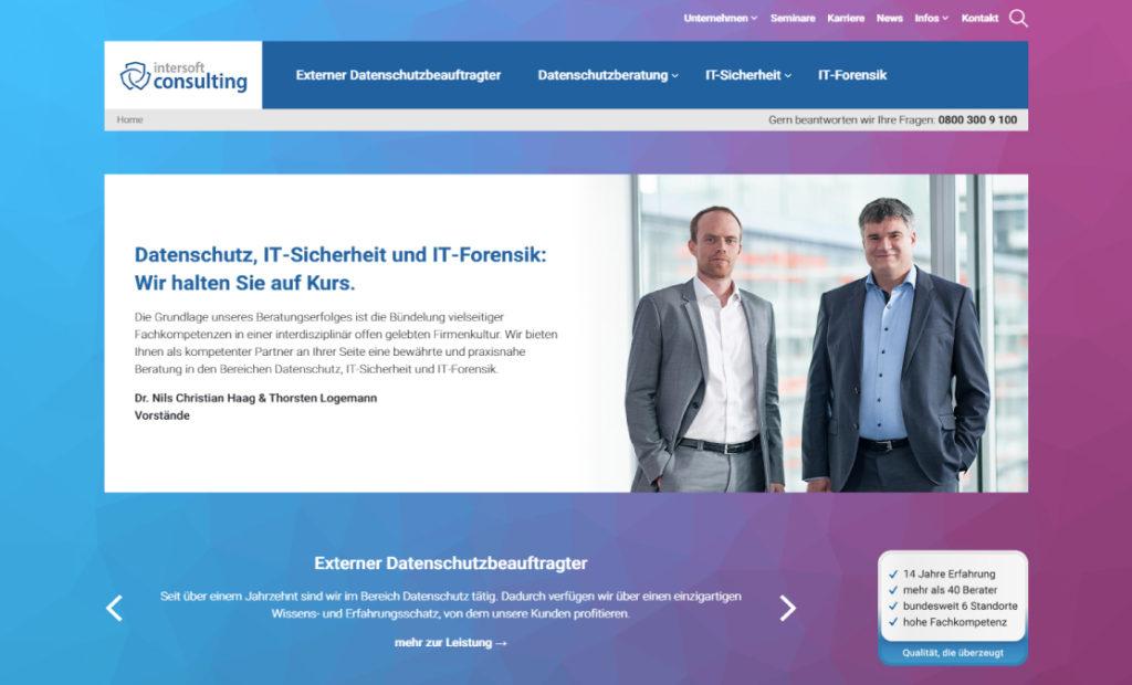 hamed.de Referenz - intersoft consulting AG