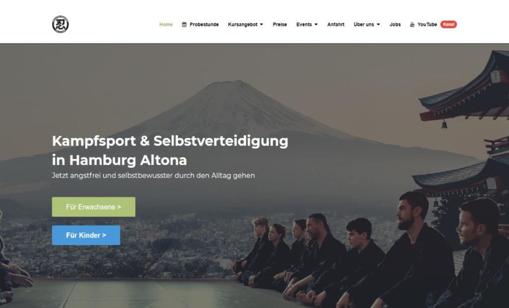 hamed.de Referenz - Ninjutsu Akademie